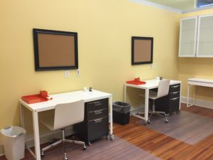Semi-Private Office Space